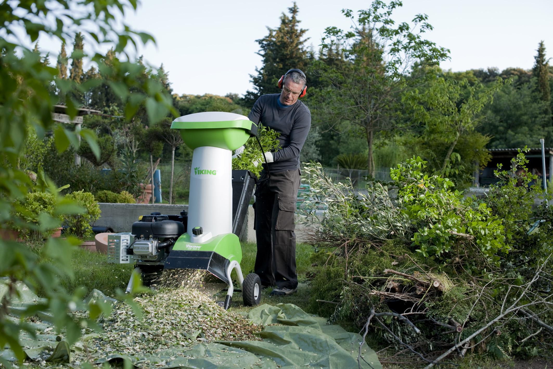 Советы по выбору садового измельчителя