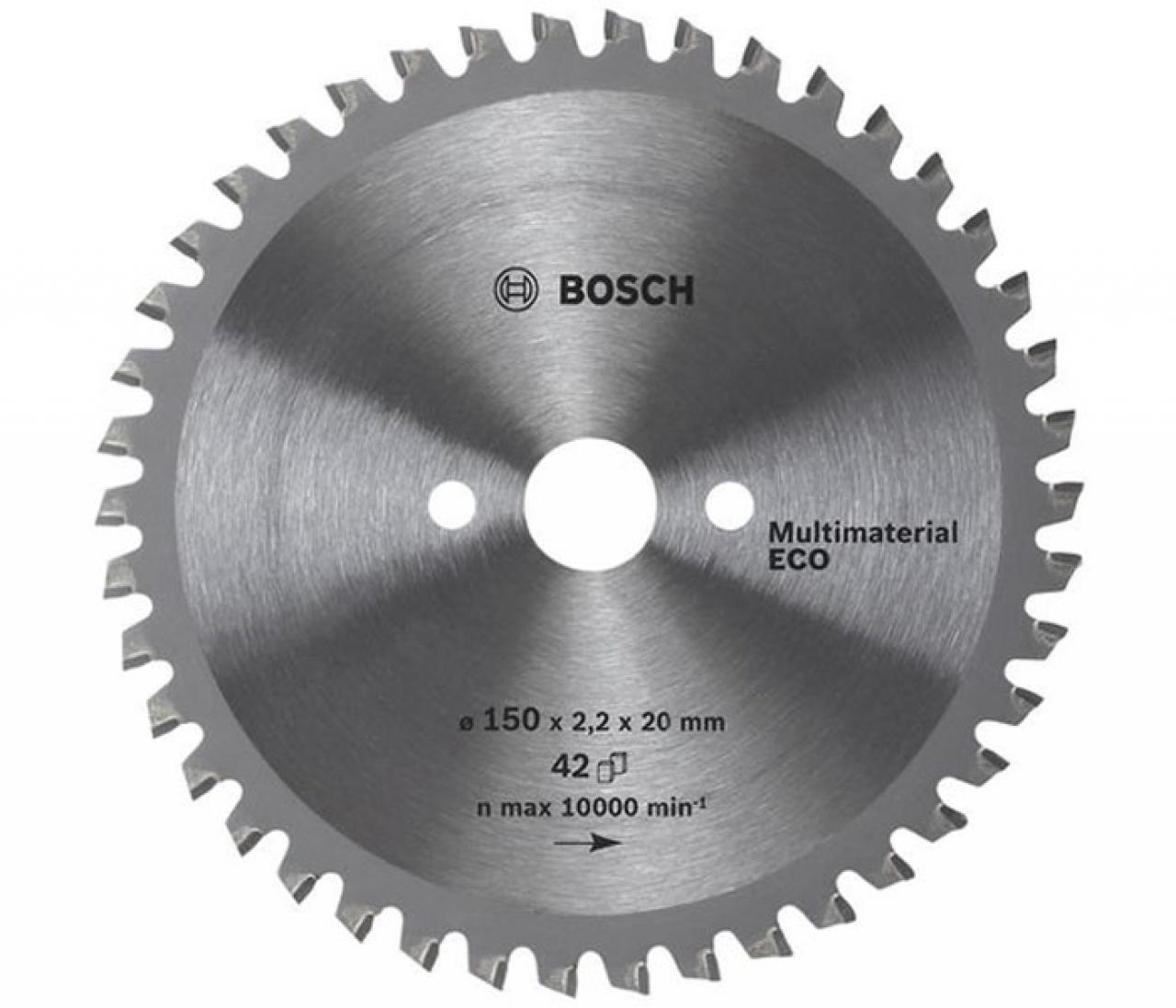 Диск пильный BOSCH 250x30 z80 Multimaterial Eco