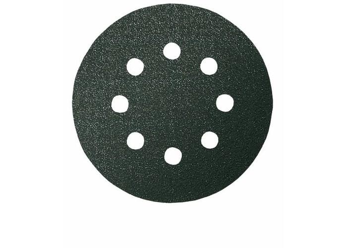 Шлифкруг ф125 на липкой основе 8 отверстий для камня k 100 (5шт) BOSCH 2 608 605 116