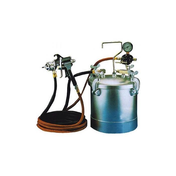 Бак красконагнагнетательный с краскораспылителем Garage PX-1 .1,2 (байонет) (8085230)