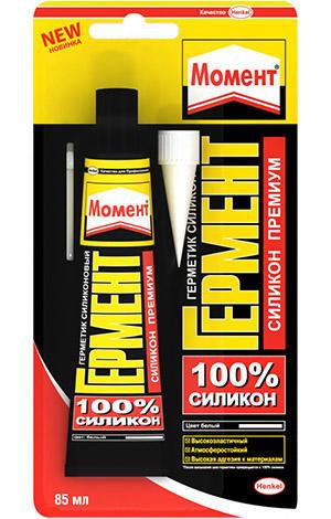 Герметик силиконовый санитарный прозрачный 85мл Henkel 622228