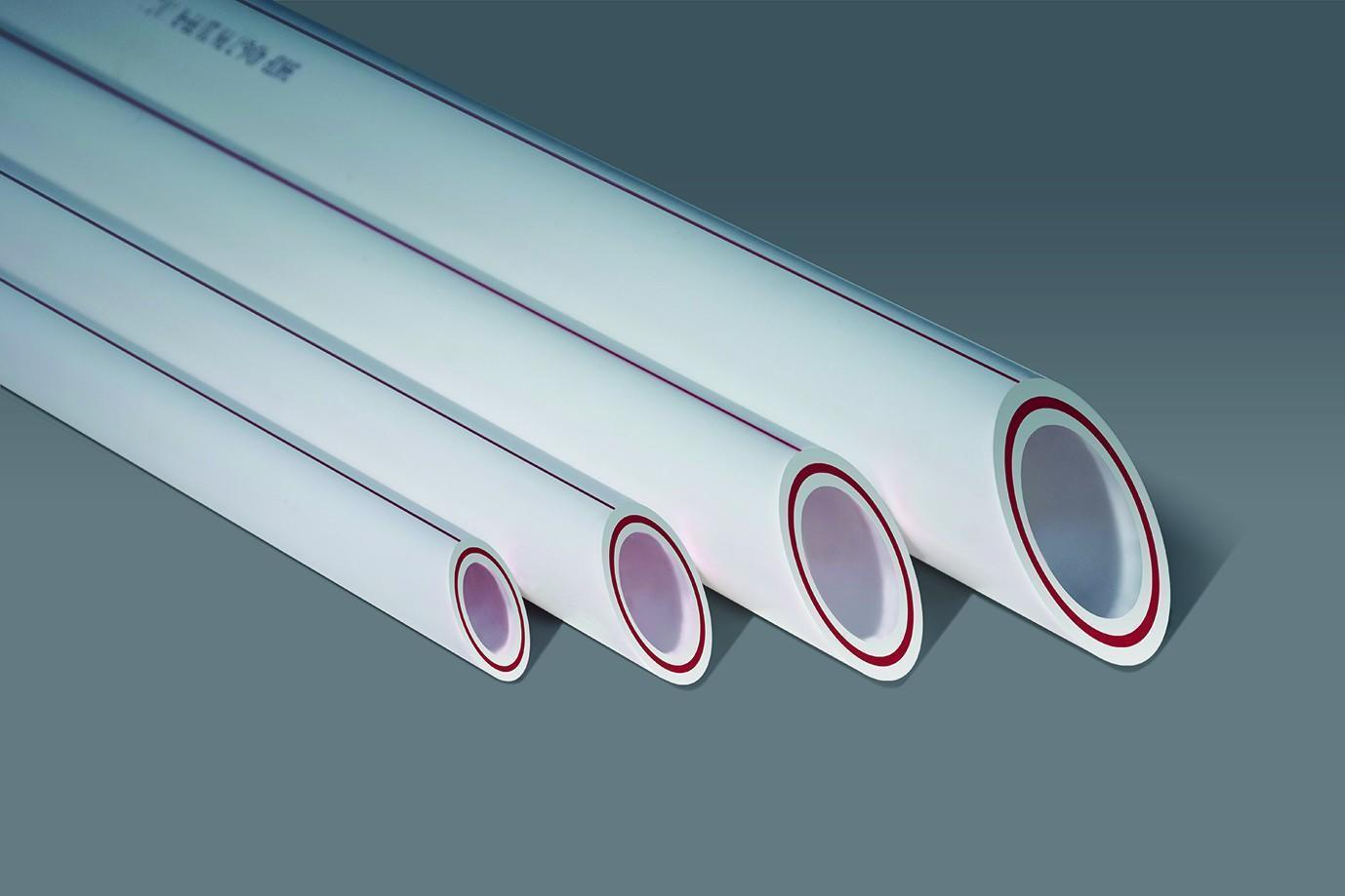 Труба PPRC ф 40 PN 20 армир.стеклов. белая(4/48)