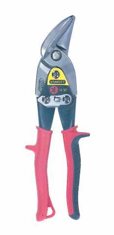 Ножницы для металла 250мм усиленные левая резьба STANLEY 2-14-567