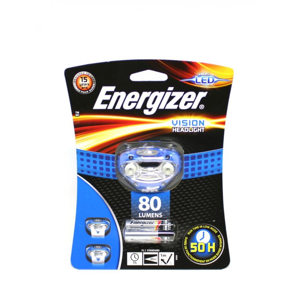 Фонарь Energizer ENR Headllight Vision 3xAAA, наголовный E300280300