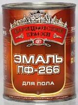 """Эмаль ПФ-266 """"Царицынские краски"""" зол-кор 0.8кг С1029"""