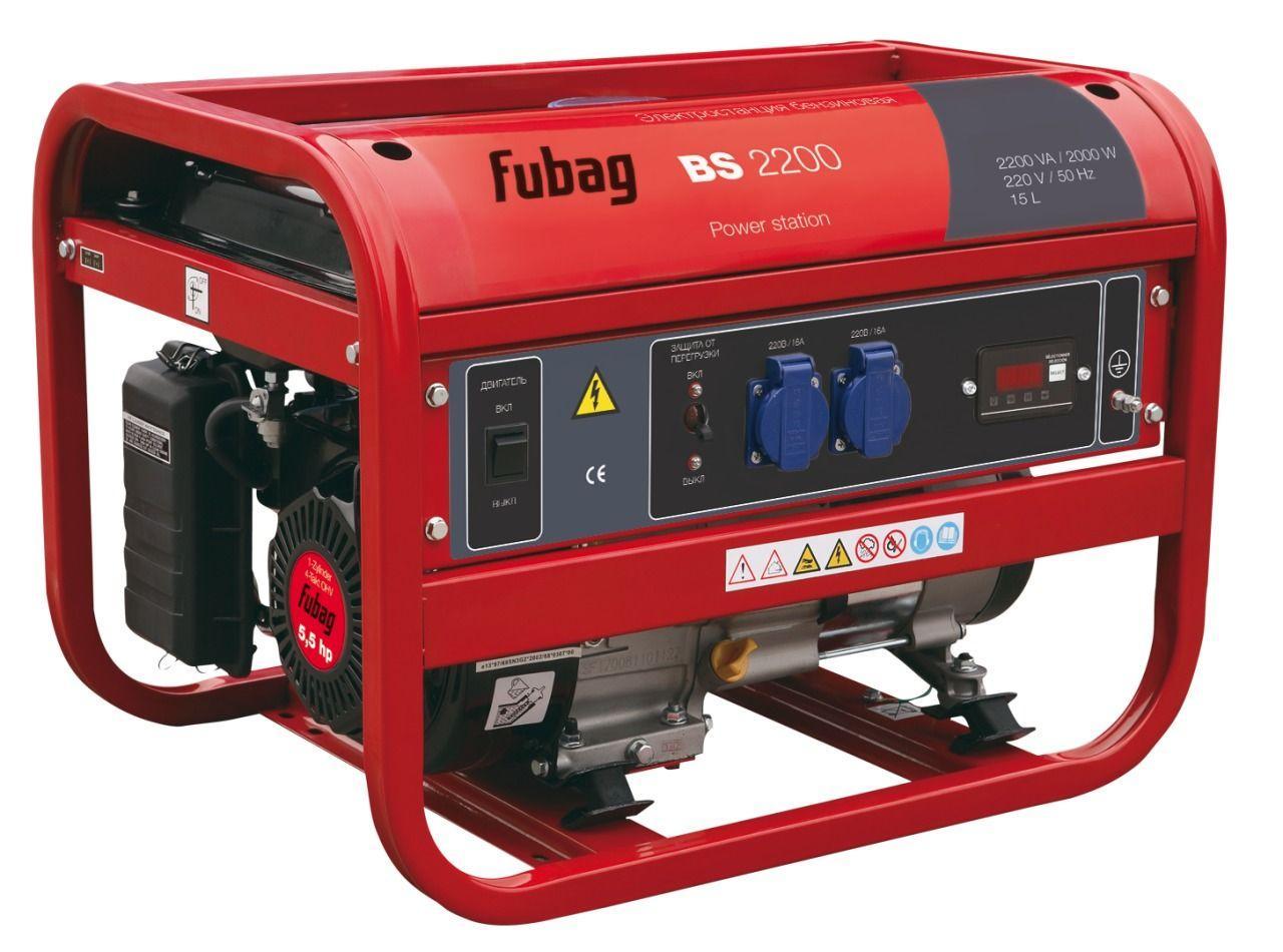 Генератор бензиновый Fubag BS 2200 838208
