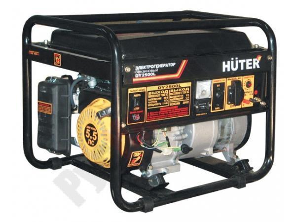 Генератор бензиновый HUTER DY 2500L (64/1/3)