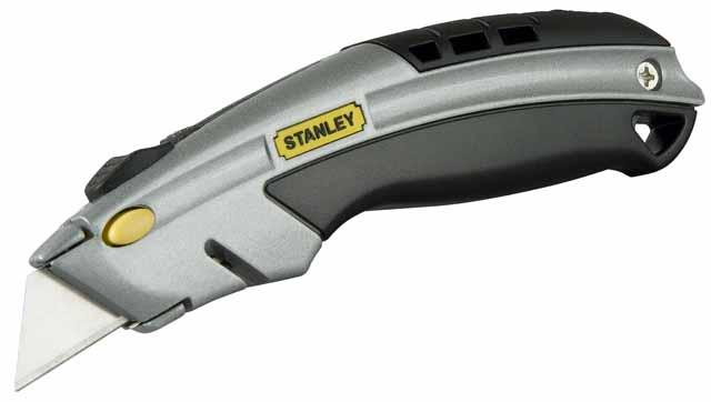 Нож со сменным лезвием трапеция 180мм DYNAGRIP быстро сменный STANLEY 0-10-788