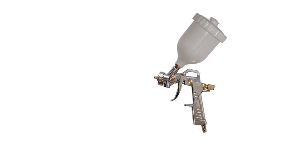 Краскораспылитель GS175 верхний бачок 1,5