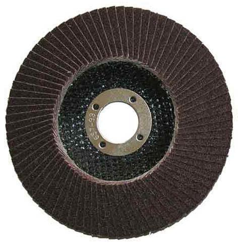Круг лепестковый торцевой ф180х22,2 К120 конический