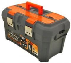 """Ящик для инструмента 19,5"""" Grand SOLID черно-оранжевый"""