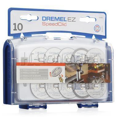 Набор кругов отрезных Dremel SpeedClic 10 шт