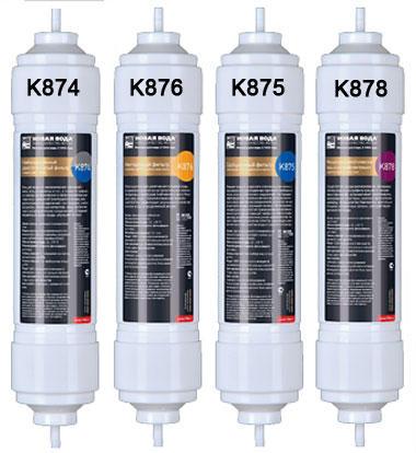 Набор картриджей Новая вода для М410 (К874, К876, К875, К878) К 687