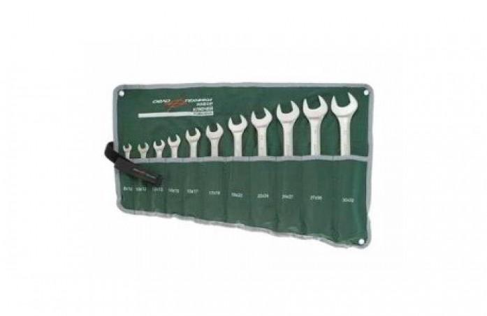 Набор ключей комбинированных усиленных 11 предметов ДелоТехники 521110