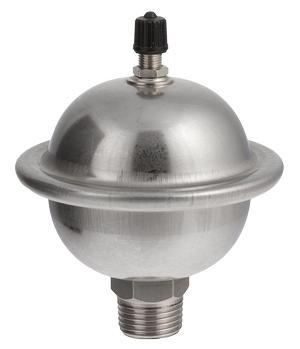 Бак расширительный для компенсации гидроударов, 0,162л (нержавеющая сталь) Valtec (VT.CAR19.I.0400)