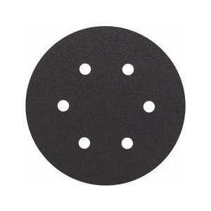 Шлифкруг ф150 на липкой основе 6 отверстий для камня k 80 (5шт) BOSCH 2 608 605 124