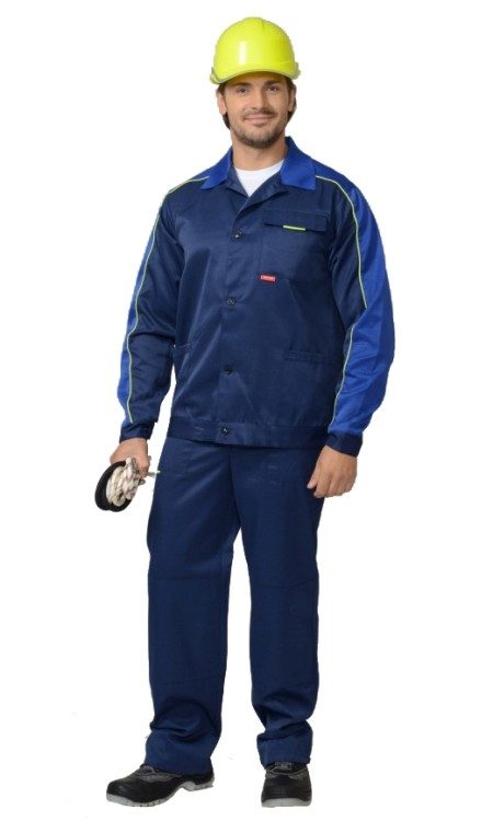 Костюм летний куртка и брюки Специалист 56-58/182-188 Вятспецпошив 56-58/182-188