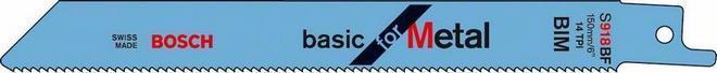 Пилки для ножовки для металла S 918 В 5шт. BOSCH 2 608 651 781
