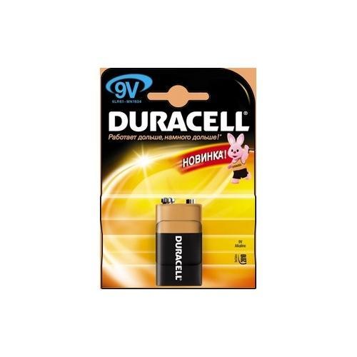 Батарейка 9V MN1604 K1 Duracell 81381920