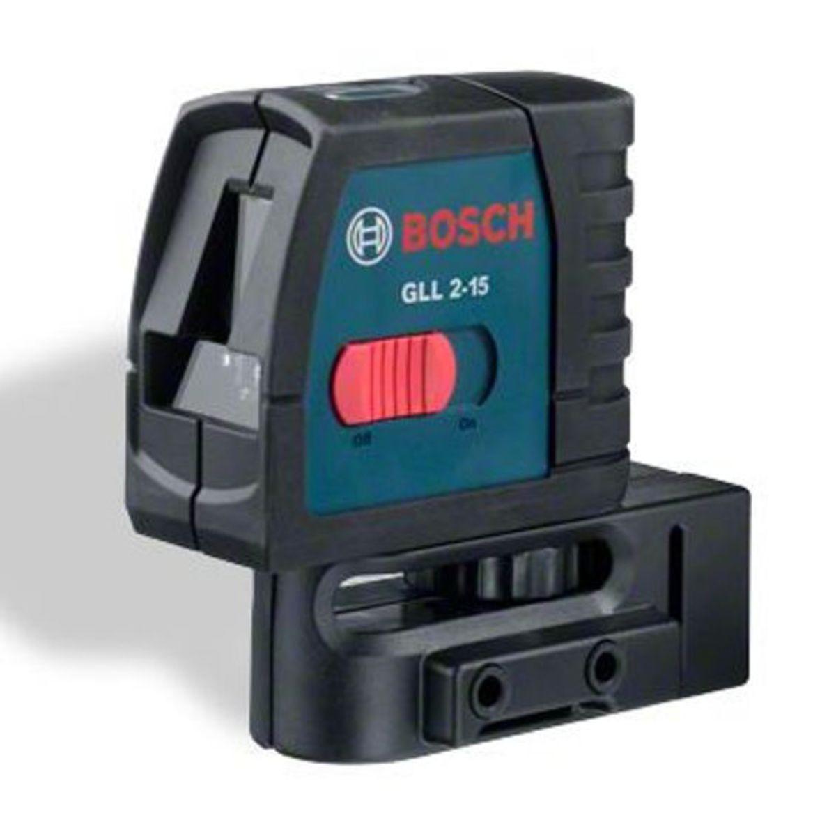 Нивелир лазерный BOSCH GLL 2-15 Prof + держатель + чехол (0 601 063 701)