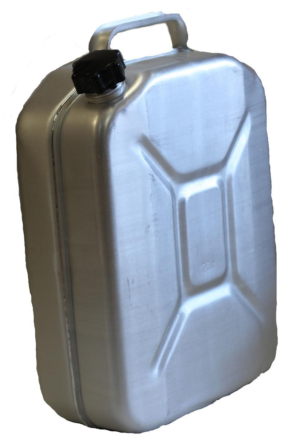 Канистра алюминиевая 20л для бензина