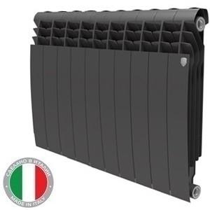 Радиатор бимет. PianoForte 500/100 10 сек. чёрный