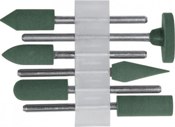 Набор шарошек резиновых среднезернистых 6 предметов FIT 36922