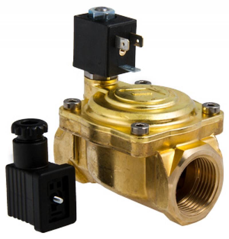 Клапан электромагнитный мембранный, 220V