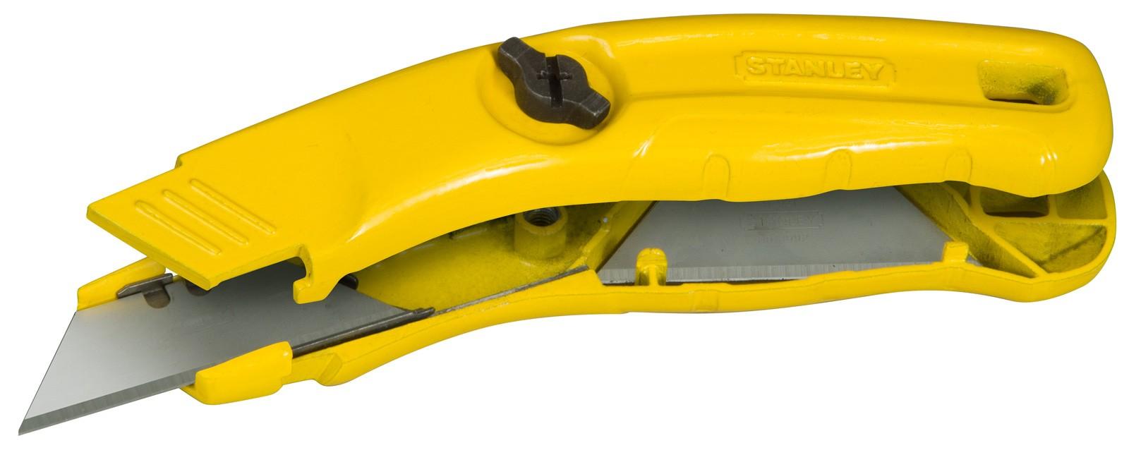 Нож со сменным лезвием трапеция 140мм MPP STANLEY 0-10-705