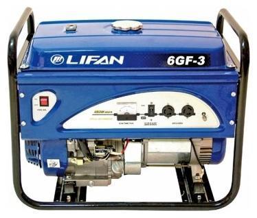 Генератор бензиновый Lifan 6.0GF-4