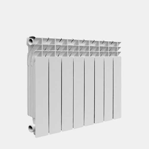 Радиатор алюминиевый KONNER LUX 80/350 литой, 8 секций