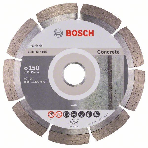 Круг алмазный 150х22 бетон Pf Concrete