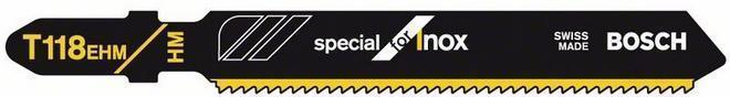 Пилка для электролобзика BOSCH T118 ЕНМ