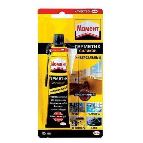 Герметик силиконовый универсальный прозрачный 85мл Henkel 616352
