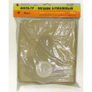 Фильтр-мешок бумажный Энкор 5 шт для К366 25593