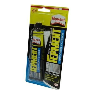 Герметик силиконовый для окон и стекол белый 85мл ГЕРМ Henkel 616354