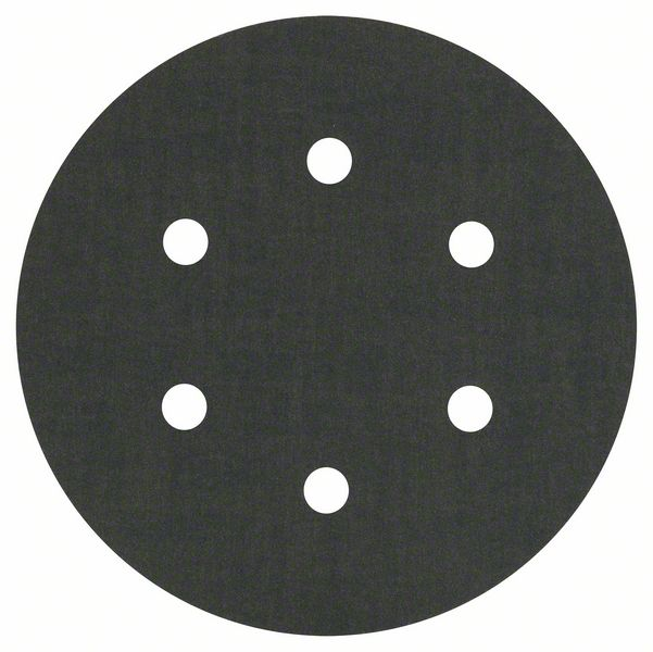Шлифкруг ф150 на липкой основе 6 отверстий для камня k 400 (5шт) BOSCH 2 608 605 130