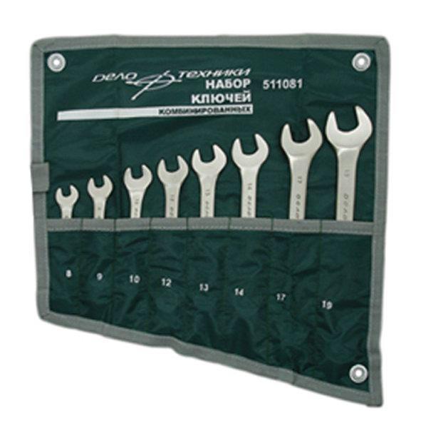 Набор ключей комбинированных 12пр сумка ДелоТехники 511122