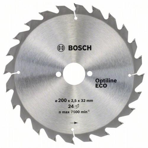 Диск пильный ф190х20/16 z24 Optiline Wood Eco BOSCH 2 608 641 787