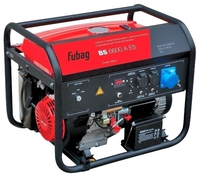 Генератор бензиновый Fubag BS 6600 A ES 5,7 кВт (838204)
