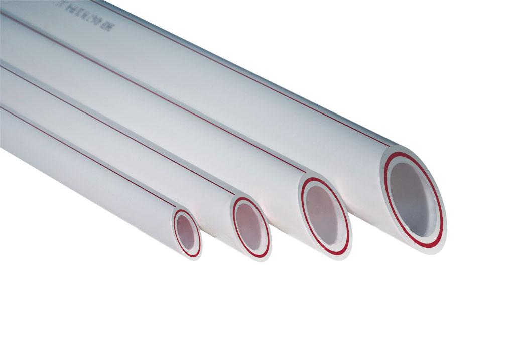 Труба PPRC ф 50 PN 20 армир.стеклов. белая(4/32)