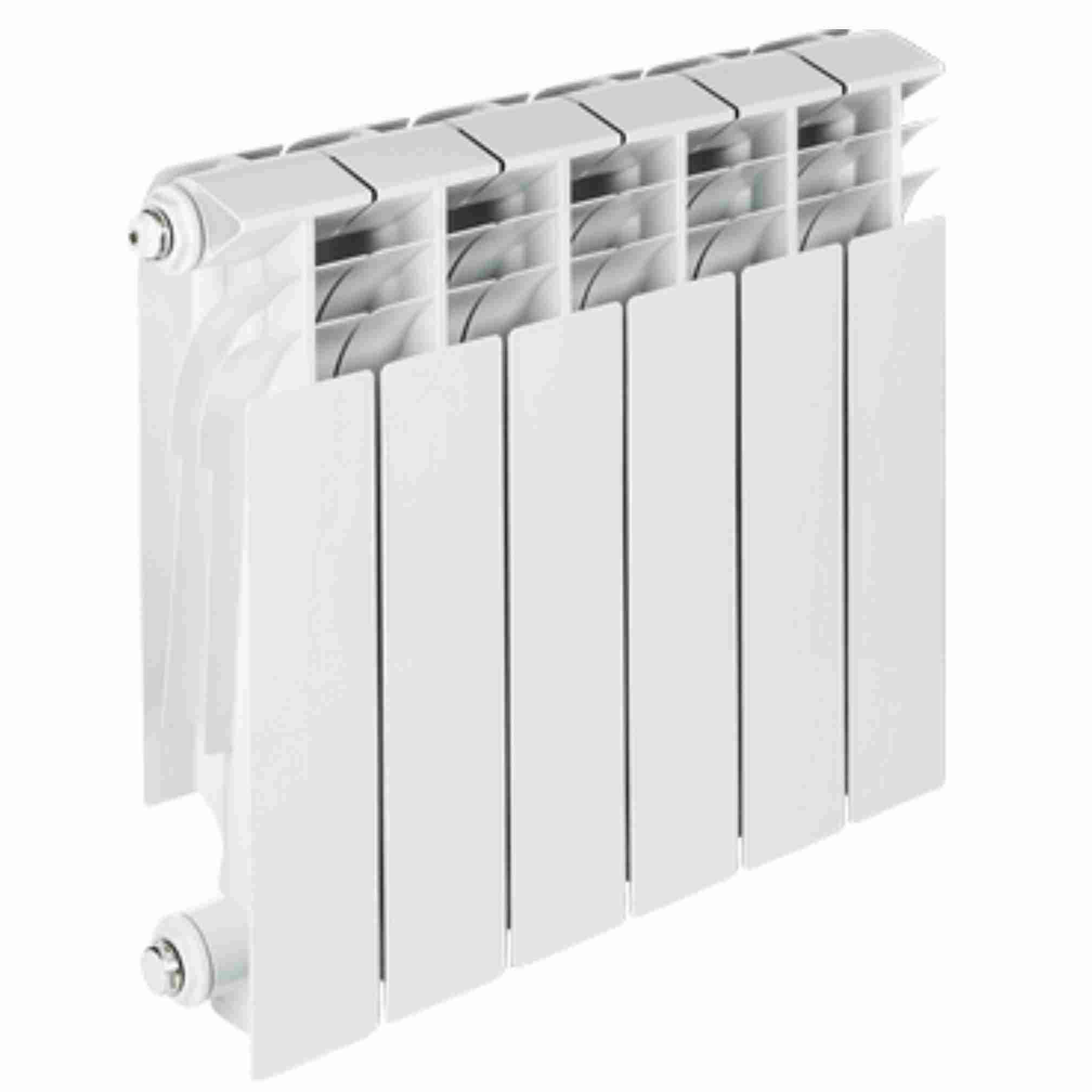 Радиатор алюминиевый TENRAD AL500/80 6 секций