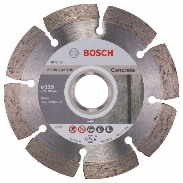 Круг алмазный 115х22 бетон Pf Concrete
