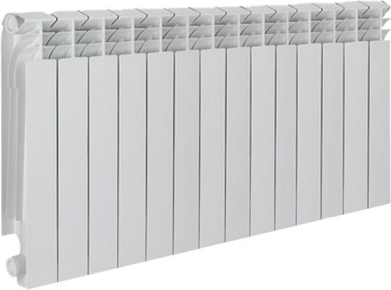 Радиатор биметаллический TENRAD ВМ500/80 14 секций