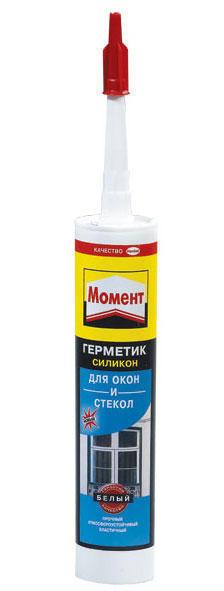 Герметик силиконовый для окон и стекол белый 280мл Henkel 611648