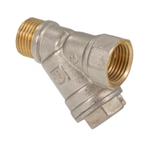 """Фильтр сетчатый для воды 1/2"""" вн.-нар. (14/224) Valtec VT.191.N.04"""