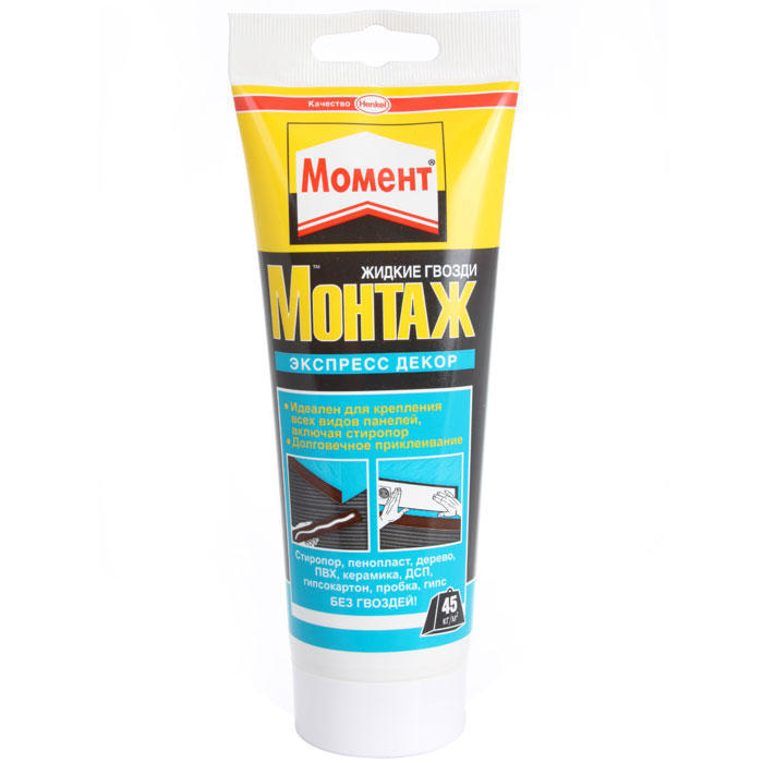 Клей Момент Монтаж Экспресс Декор 250г Henkel 614161