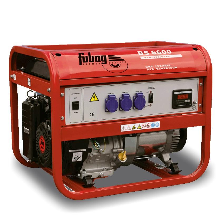 Генератор бензиновый Fubag BS 6600 568280