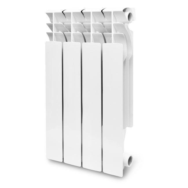 Радиатор алюминиевый KONNER LUX 100/500 литой, 6 секций
