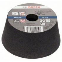 Круг шлифовальный ф110х55 к60 чашечный для камня BOSCH 1 608 600 241